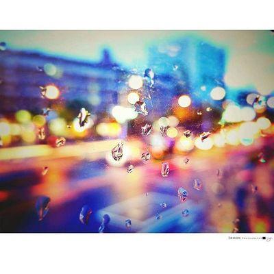 【 雨後 】 滂沱後 等待著一絲 如陽光的希望 卻不知 夜的來臨 欲先悄悄到來 保持 等待 LGG4 Night 365Snap Rain