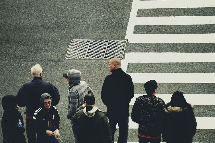 The crossing City Life People People Photography Crosswalk City Streets  On The Road Streetphotography Street Photography Looking Into The Future The Street Photographer - 2015 EyeEm Awards