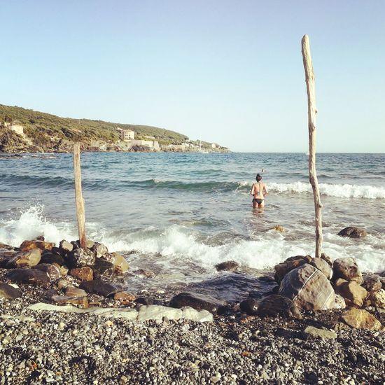 Summer 2018, Castiglioncello Summer Summer2018 Week On Eyeem Castiglioncello Baiadellarancio #marcodiquattro Child Childhood Sand Full Length Men Boys Shore Sandy Beach Calm Coastline Seashore