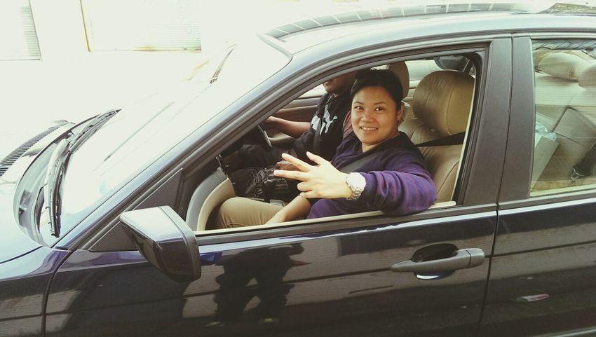 Drive safely! Taking Photos ♥my First Car♥ Enjoying Life Bmw