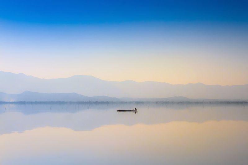Calmness lake