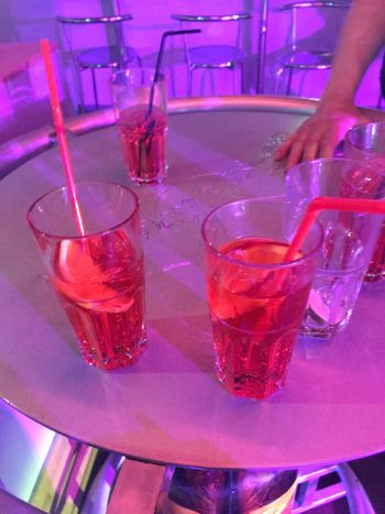 Made With IPhone 7 No Effects Club Orange Lemon Violet Pink Drink Drinking Glass Food And Drink Human Hand Human Body Part Refreshment Alcohol Real People Cocktail Indoors  Table Freshness Nightclub Bar - Drink Establishment Nightlife Cold Temperature Bartender Drinking Straw Holding
