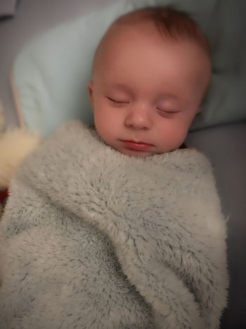Innocence Real People One Person Close-up Childhood Babyhood Son Sleeping Boy Fragility Portrait