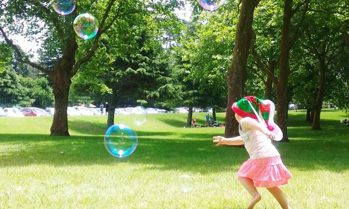 Bubble Childhood One Person Park - Man Made Space Grass Outdoors Children Only Bubble Wand One Girl Only Leisure Activity Nature Freestylephotography Hello World Child At Play Outdoor Playtime Breathing Space Mix Yourself A Good Time Summer Exploratorium