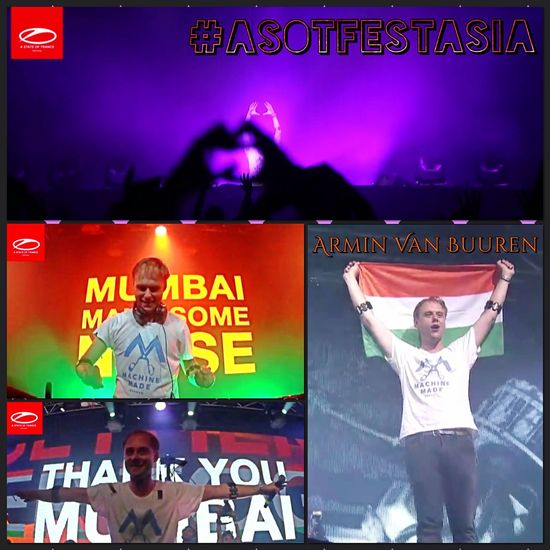 Together in A State Of Trance Festi Mumbai , India 💞 🇮🇳 💞 ASOTFESTASIA ❤️