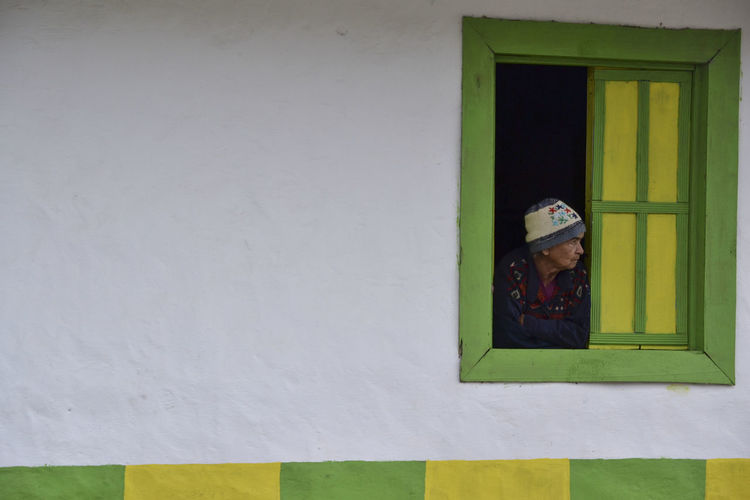 Salento, Valle del Cocora, Colombia Calm Life Colorful City Colors Daily Life Good Morning Lost In Thought... Lost In Time Lost Places Old Woman Simple Architecture Windows EyEmNewHere The Portraitist - 2017 EyeEm Awards The Photojournalist - 2017 EyeEm Awards