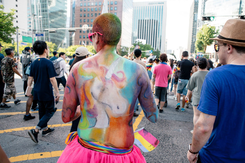 Seoul, South Korea - Jul 14, 2018: Seoul Plaza hosts one of the most colorful and inclusive LGBT Pride event in Asia, Seoul Queer Pride earlier this month. Despite being seen as a conservative society, more than 30,000 Korean and people from around the world participated in Seoul Queer Pride, as a part of 19th Seoul Queer Culture Festival. Summer heat couldn't stop the celebration of love, diversity and equality. Seoul Queer Festival Seoul Queer Pride Seoul Pride Seoul Lgbt Pride Korean Lgbt Lgbt Pride Pride2018 Gay Pride Lgbt Lgbtq Pride Parade LGBT Rainbows Rainbow Flag Loveislove Seoul Queer Culture Festival Love Wins A New Perspective On Life