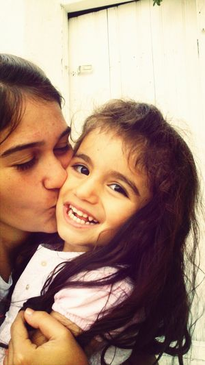 lots of kisses, big kisses for my little princess I miss youuu