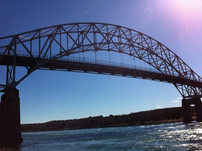 Bourne Bridge on the Cape Cod Canal Hanging Out