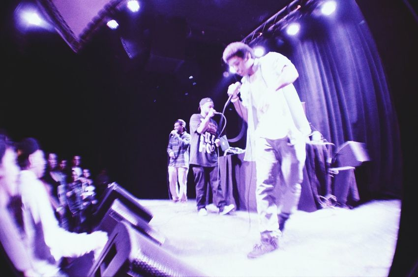 Analytiks sharing the stage with DeadPrez at The Observatory HipHop Support Local Artists