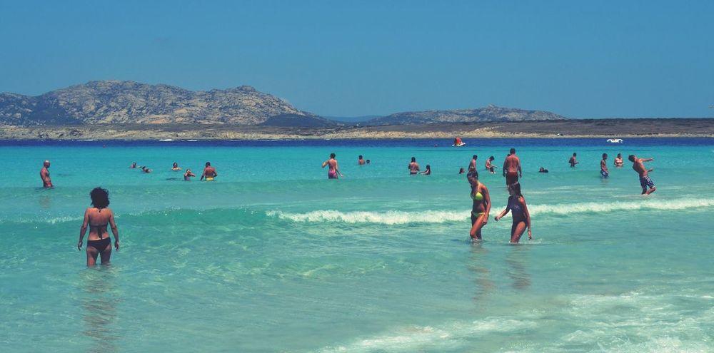 Are you with me? Summer Views La Pelosa Stintino Sardegna Italy . Sun Sea Beach Summer Eyeemitalia