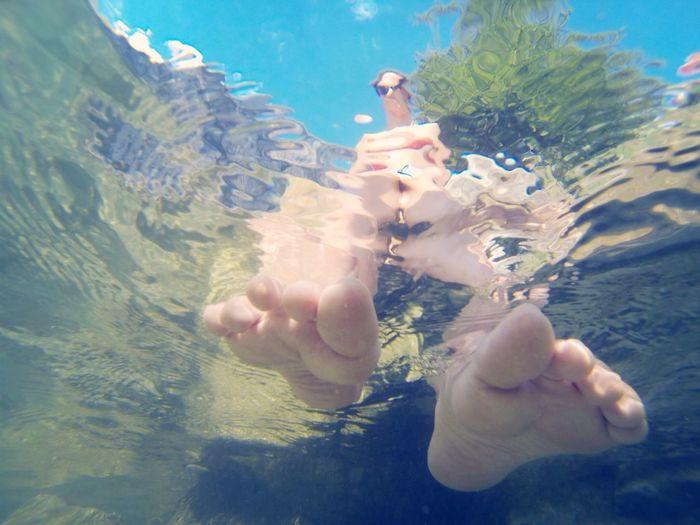 Girl Water Lake Eye4photography