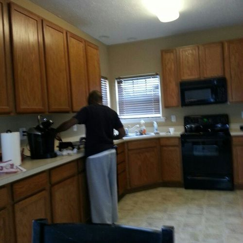 Happy holidays my uncle putting it down in the kitchen Canusaystarving