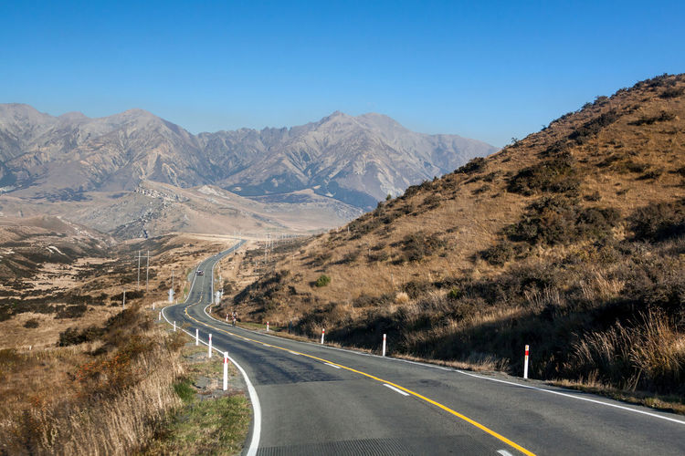 Scenic route of south island in new zealand is very beautiful scenic drive in the world top list.