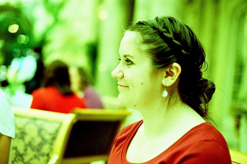 Koduckgirl One Person Real People Young Adult Young Women Zenit122 Niece  Family Lomo Xpro 100 Sitting Film