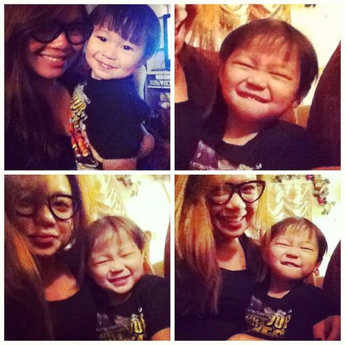 Why you so cute?! Nephew  Terrence Manchito