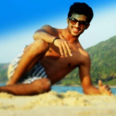 Posing @ the beach :)