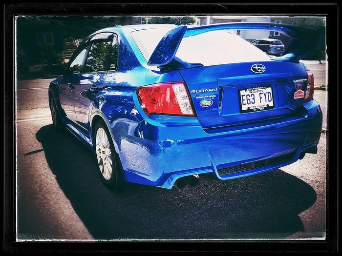 STI Subaru WRX Sti