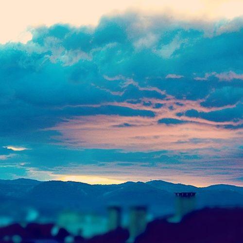 Sunset Clouds Benimmaceram @kiaturkiye
