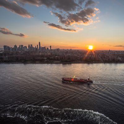 chill sunset I Heart New York