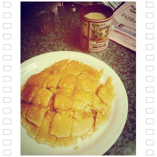Pancake break :p ♥ Goodyspancakesarethebest