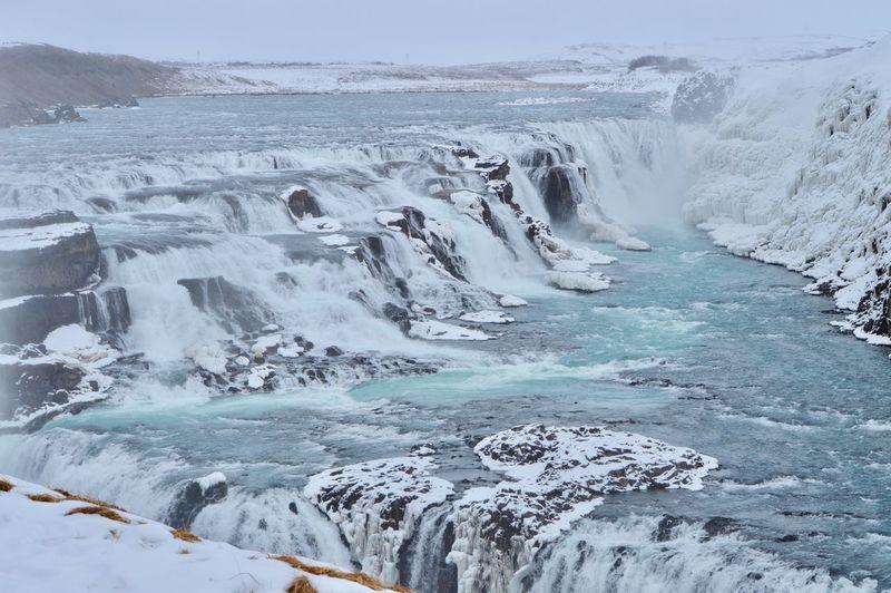 Gulfoss falls, selfoss iceland