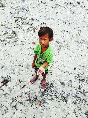 EyeEm Selects boy Sand Crab