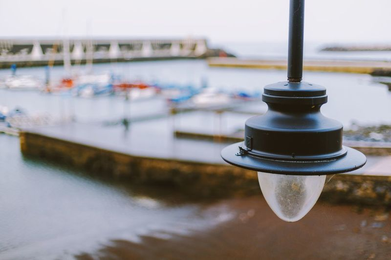 Focus On Foreground Bokeh Shallow Depth Of Field Farola Lightbulb