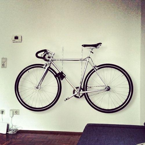 Nowhitewalls Bike Interior Design space inspiration singlespeed cooperbike urban living