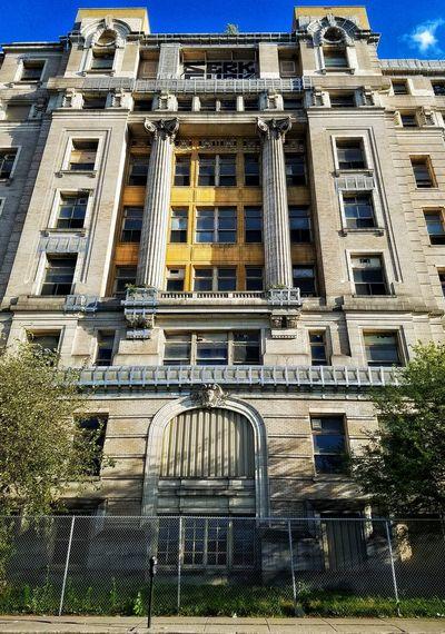 Chicago Scout Landmark Landmarkbuildings Stroger Cookcounty Hospital Condemned