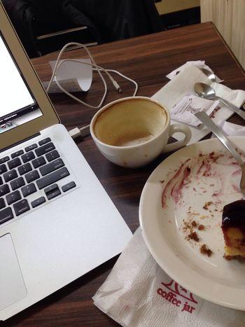 More Coffee and Cheesecake Please. Getshitdone Hustling