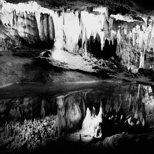 Luray Luraycaverns Luray Caverns Caverns Blackandwhite Black And White Nature Cave Caves Reflection Reflect First Eyeem Photo