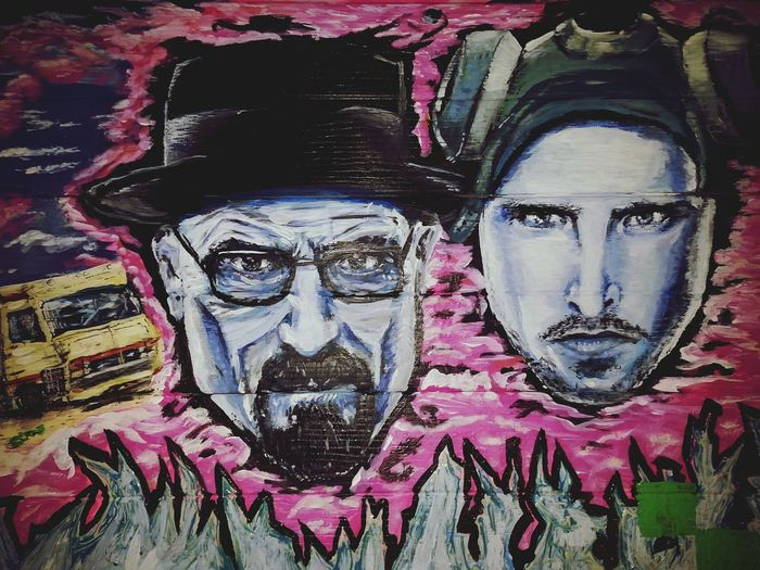 Just finished painting Breaking bad bitch