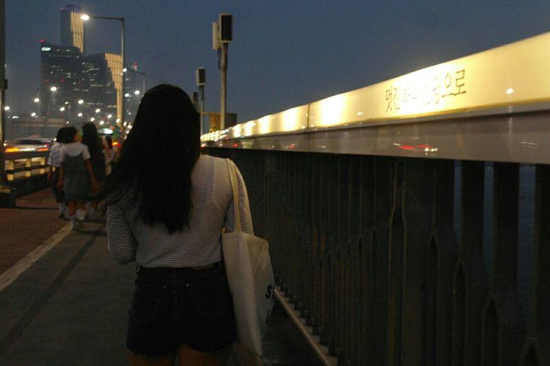 밤바람 Enjoying Life 마포대교 생명의전화 밤바람 인생뭐있어