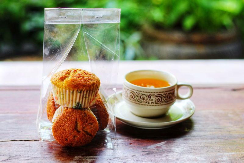 Cake Cupcake Cup Pecking For Food Drink Tea - Hot Drink Fruit Homemade Teabag Close-up Sweet Food Food And Drink Hot Drink Afternoon Tea Tea Tea Cup