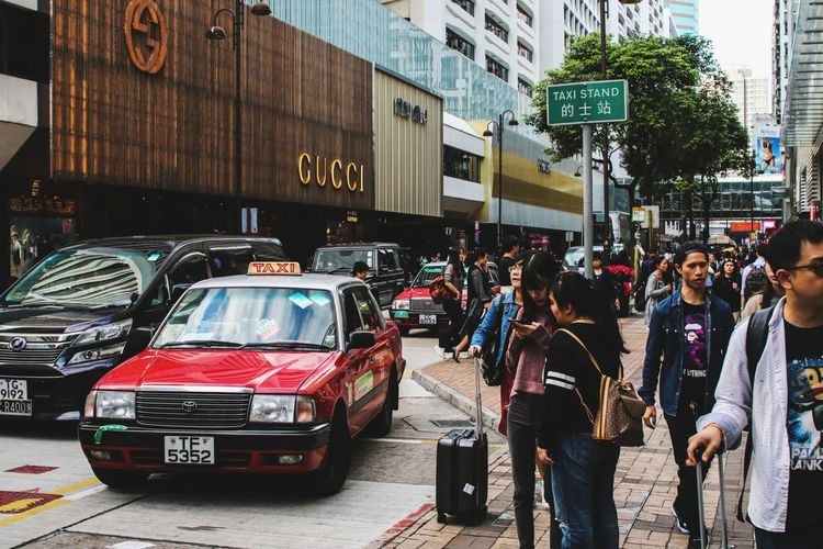 Building Exterior Shoppingmalls Fashionstreet HongKong Citylife GUCCI Tourist Cityview Canon 70d