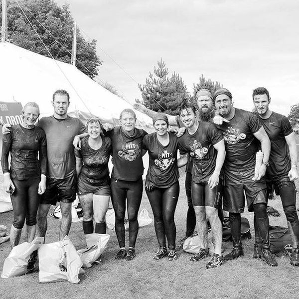 The PITT at Born Survivor. Good times! Hoping to find another event in the NW for us all to attend together soon 😀 Ocr Fitfam Obstaclecourse Obstaclecourseracing MudFun Mudrun Team Run Runwalkcrawl Bs5