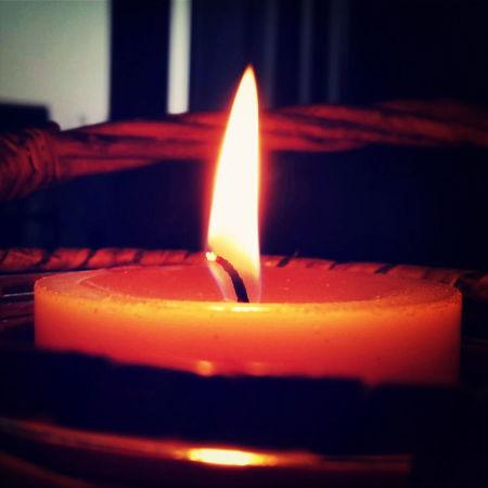 Wird wieder früher dunkel... Candle
