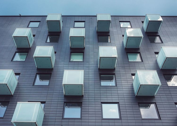 Building Windows Human Settlement 2019 Niklas Storm Juli Full Frame Textured  Arrangement In A Row Communication Repetition Geometric Shape Square Shape Rectangle Shape The Architect - 2019 EyeEm Awards My Best Photo