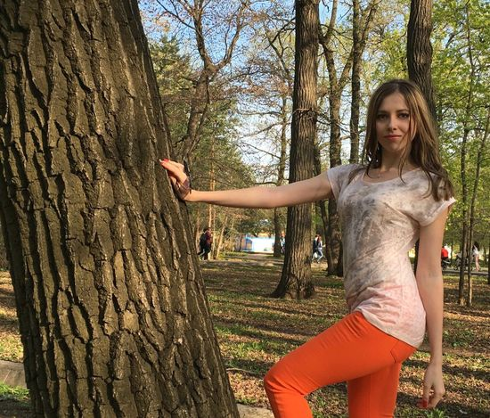 девушка красивая девушка Самара парк весна апрель  First Eyeem Photo