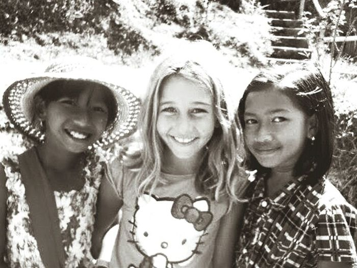 The Human Condition Smile South Balinese Life Bali Children Black And White Portrait B&W Portrait