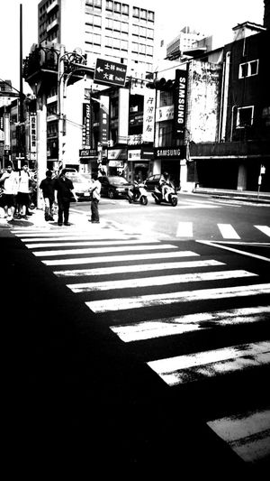 Street Blackandwhite Photography Taipei