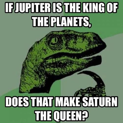 Jupiter Saturn Jupiter Vs Saturn Astronomy Philosophicalthoughts