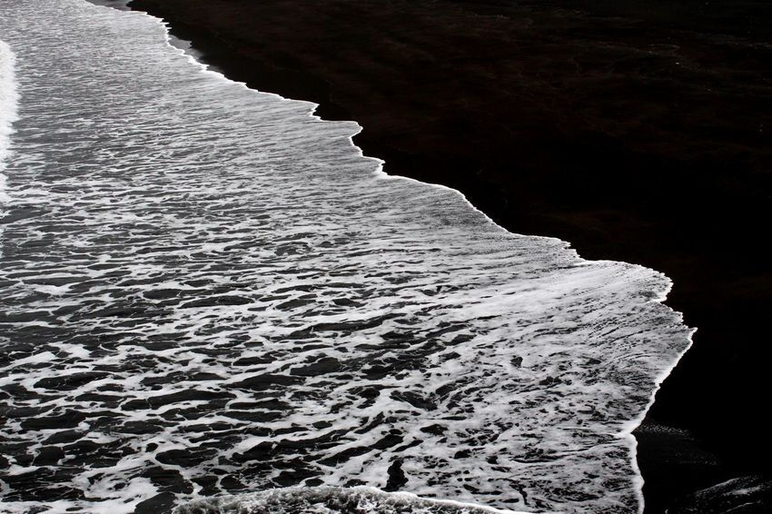 Beach Beauty In Nature Day Nature No People Outdoors Sand Scenics Sea Spindrift Water Wave