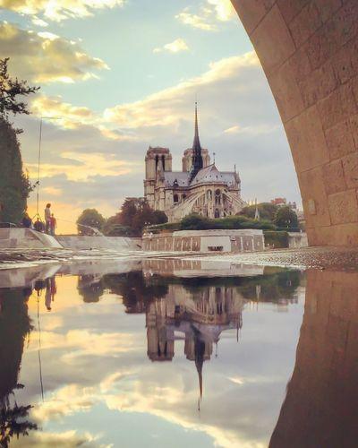 Paris Reflection Notre-Dame Seine France EyeEm Best Shots