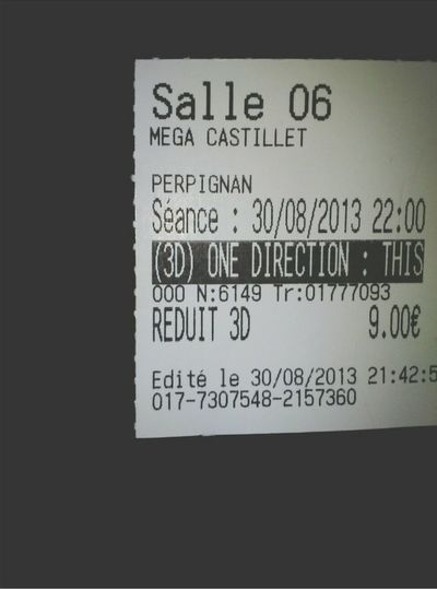 This Is US One Direction Cinema Film