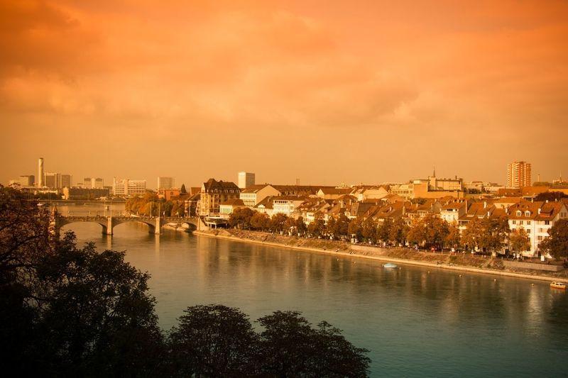 Rhein City View  Basel