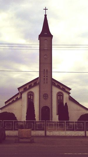 Church Jesus Catolic Church Taking Photos Landscape_Collection First Eyeem Photo Sky Sky_collection Sky And Clouds