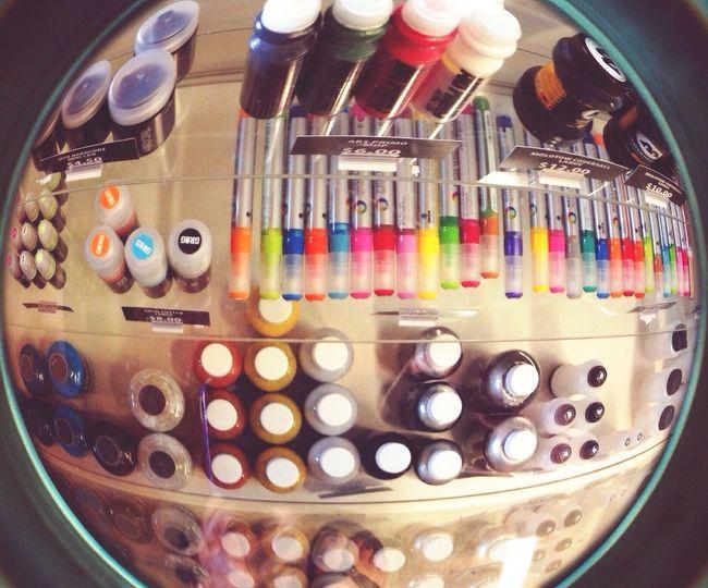 Fisheye on supplies Artsupplies Paint Markers  Art Shopowner Fisheye Ink Graffiti Graffsupplies Ironlak Molotow