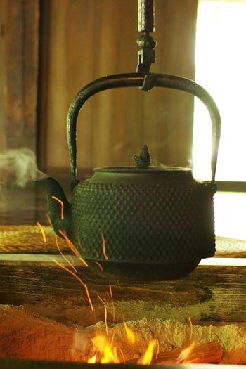 EEA3 - Tokyo Pot Kettle Fire Japanese Culture Japan Photography Tokyo Pentax K-5 Pentax